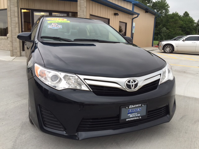 2014 toyota camry le 4dr sedan 2014 5 faine 39 s auto sales. Black Bedroom Furniture Sets. Home Design Ideas
